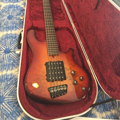 Enfield Cannon 2012 Cherry Sunburst flamed maple for sale