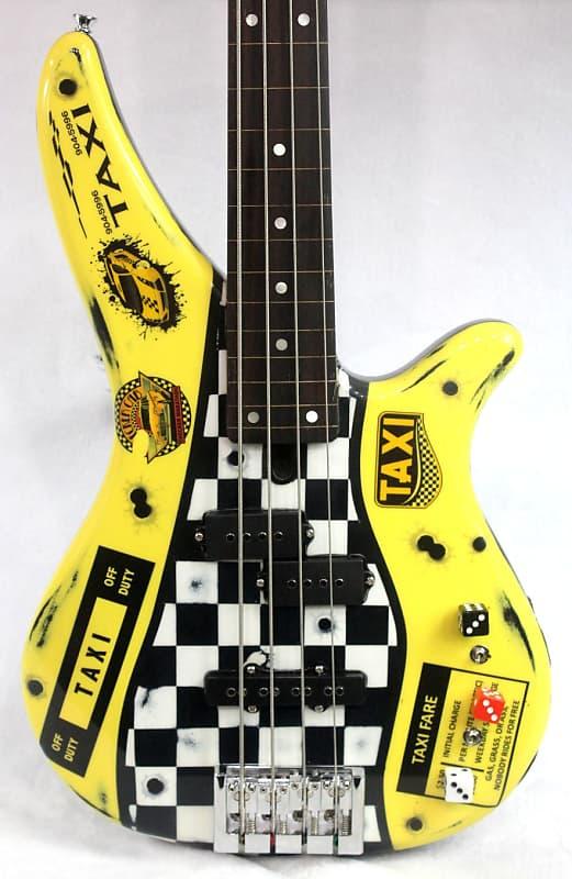 Custom Painted (W/ Major Upgrades) Yamaha RBX 170 Fretless Bass With Piezo Pickup (Aged & Relic'ed)T