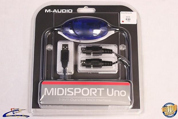 M-AUDIO MIDISPORT UNO USB 64BIT DRIVER