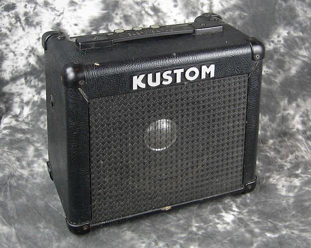good used kustom kga10 electric guitar amp reverb. Black Bedroom Furniture Sets. Home Design Ideas