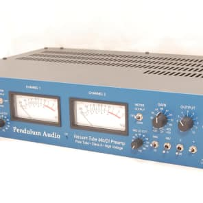 Pendulum Audio MDP-1 2-Channel Vacuum Tube Mic / DI Preamp