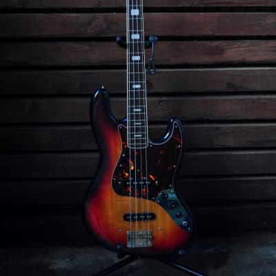 Maya Jazz Bass 1970 Sumburst Made In Japan for sale