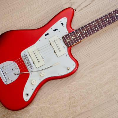 2001 Fender American Vintage '62 Jazzmaster Vintage Reissue Candy Apple Red w/ Case for sale