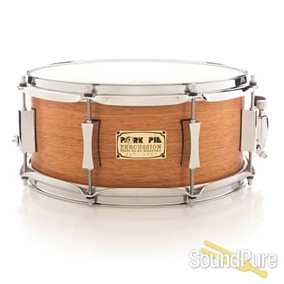 Pork Pie 6.5x13 Mahogany/Poplar Snare Drum