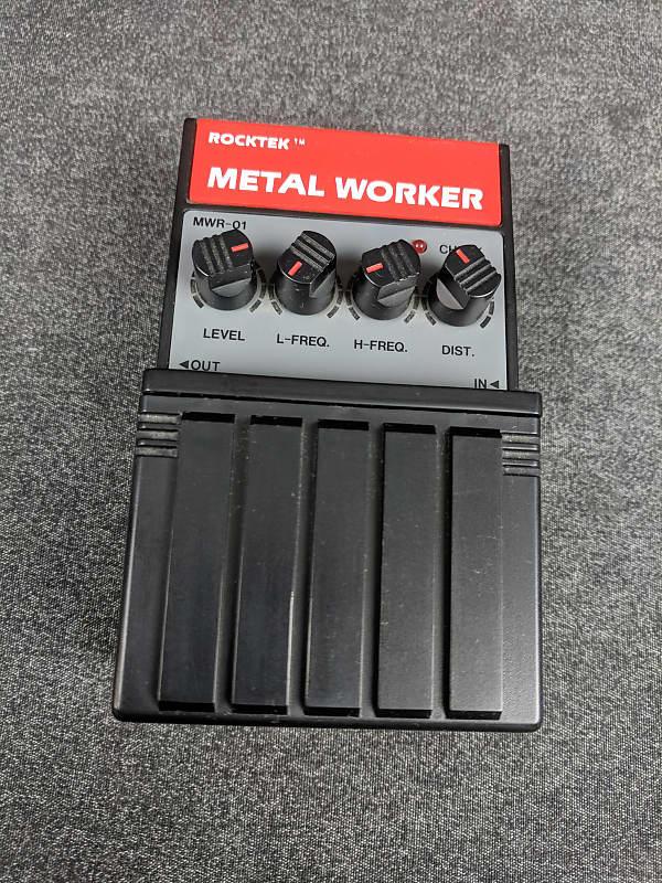 rocktek metal worker distortion guitar effects pedal reverb. Black Bedroom Furniture Sets. Home Design Ideas