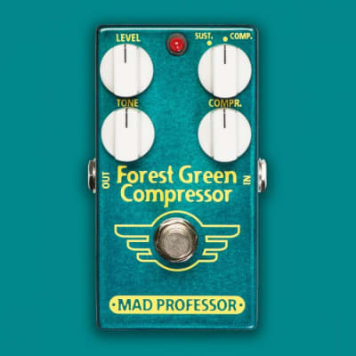 Mad Professor Forest Green Compressor guitar/bass effect pedal for sale