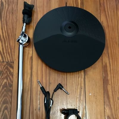"""Alesis 10"""" Cymbal w/21"""" Arm, 1.5"""" Clamp & Cable Surge Hi-Hat Drum 1 Zone"""