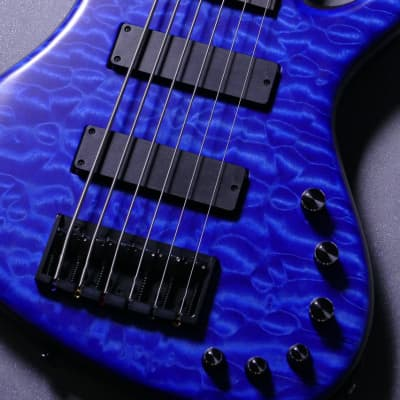 Freedom Custom Guitar Research Dulake Flat 6stSM/R【Ruri】Made In Japan for sale