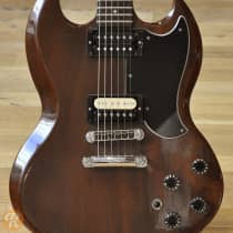 """Gibson Firebrand """"The SG"""" Deluxe 1982 Walnut image"""