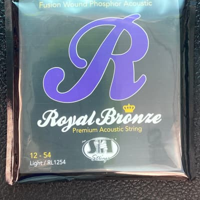 SIT RL1254 Royal Bronze Light Acoustic Strings 12-54 2010s Standard