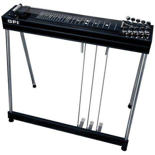 Metal Pedal Case : Gfi musical instruments s sm pedal steel guitar with