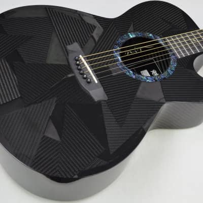 RainSong Black Ice Series BI-WS1000N2 Acoustic-Electric Guitar w/HSC #ISS3891