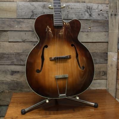 Kay K-1 Vintage 1950's Jumbo Archtop Acoustic Guitar - Slight Flamed Back for sale
