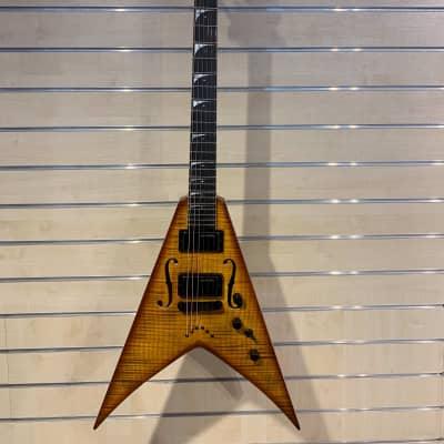 Dean Dean USA Signed Ltd Dave Mustaine STRADIVMNT 18/50 2014 Violin Burst 2014 Vintage Burst for sale