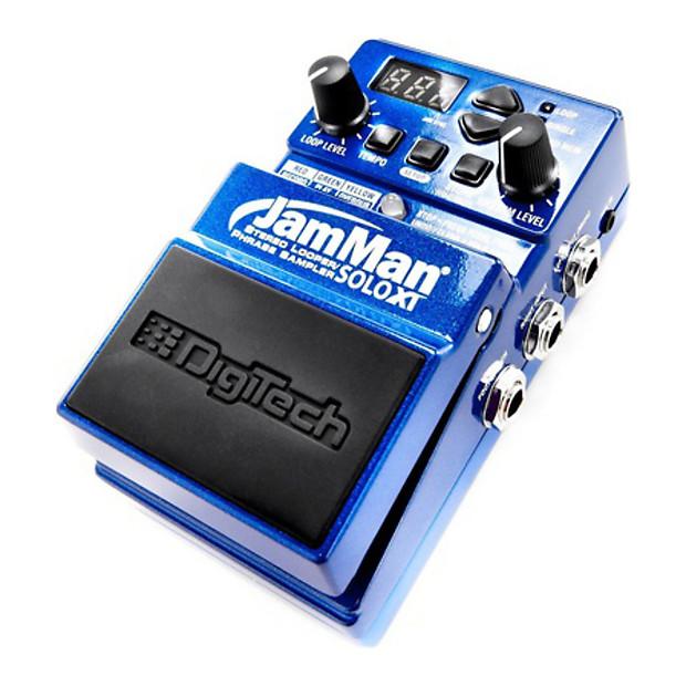 digitech jamman solo xt looper guitar effect pedal geartree reverb. Black Bedroom Furniture Sets. Home Design Ideas