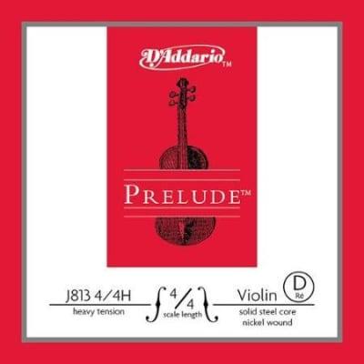 D'Addario J813 3/4M Prelude 3/4 Violin String - D Medium