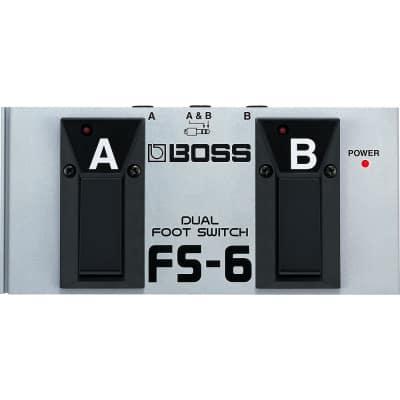 Boss FS-6 Dual Footswitch (Latch Or Unlatch)