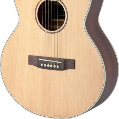 James Neligan Asyla Series Mini Auditorium Travel Guitar w/ Solid Spruce Top, Lefthanded