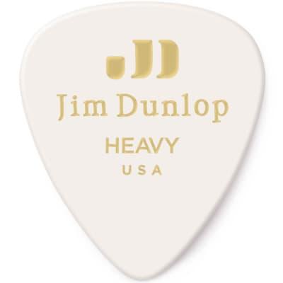 Dunlop 483R01HV Celluloid Standard Classics Heavy Guitar Picks (72-Pack)