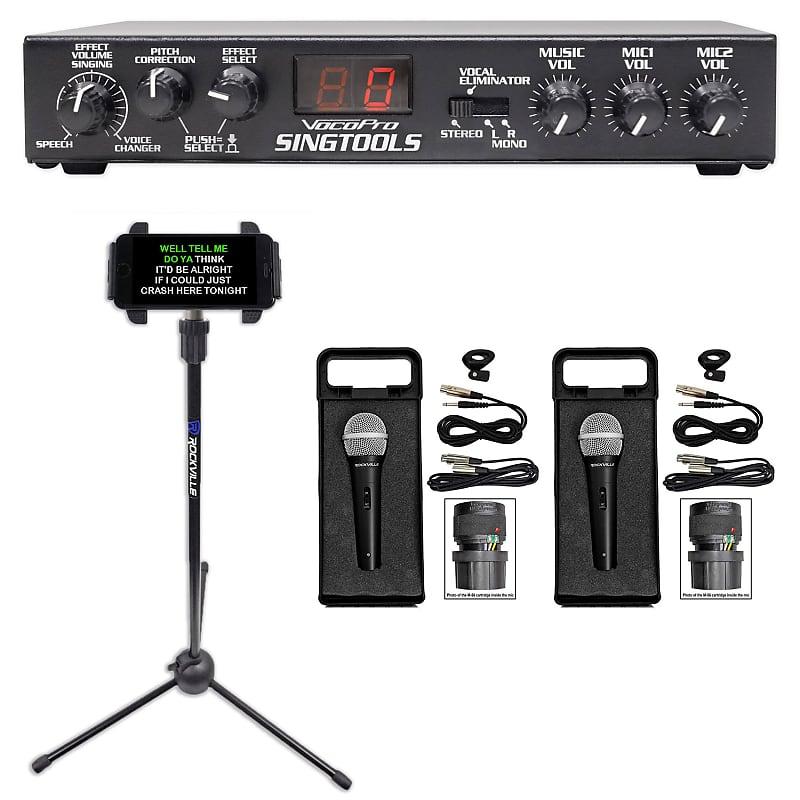 vocopro singtools dsp vocal effects karaoke mixer w pitch reverb. Black Bedroom Furniture Sets. Home Design Ideas
