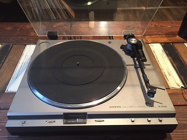 onkyo turntable. onkyo cp 1015a turntable