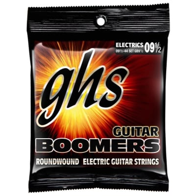 GHS Boomers Electric Guitar Strings 09.5-44, GB9 1/2
