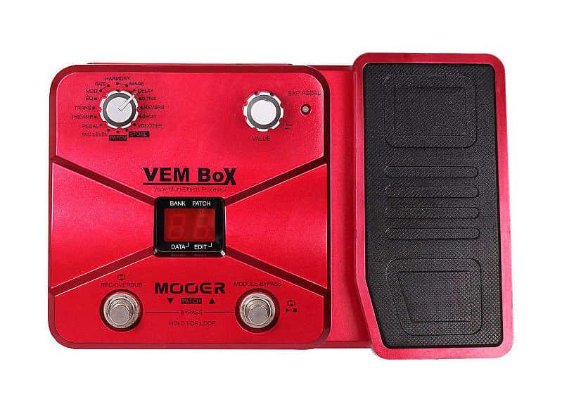vem box mooer studio live dsp vocal multi effect processor reverb. Black Bedroom Furniture Sets. Home Design Ideas
