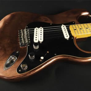 Fender Custom Shop Limited Edition Robbie Robertson last Waltz Stratocaster - Bronze 9216112576 (393) for sale