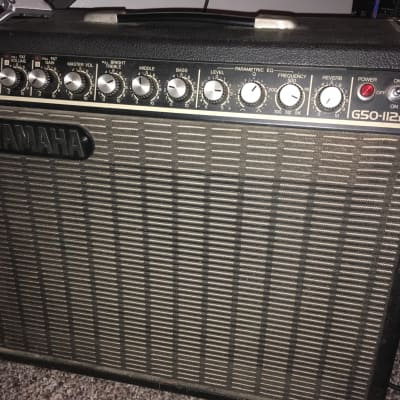 """Yamaha G50-112ii with extra Speaker """"Cannabis Rex"""" by Eminence"""
