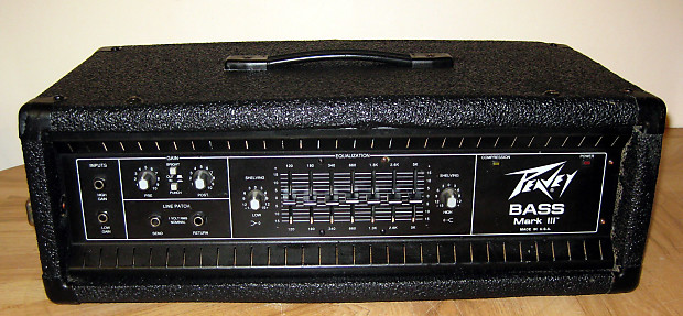peavey mark iii mark 3 bass amp head made in usa reverb. Black Bedroom Furniture Sets. Home Design Ideas