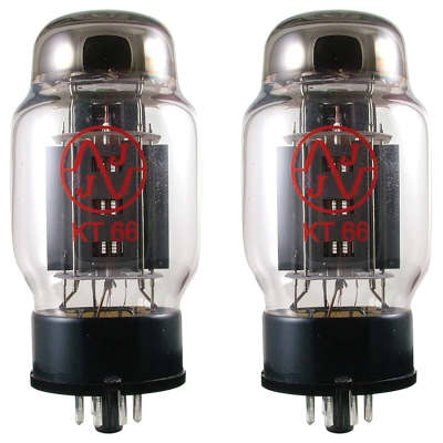 JJ Electronic KT66 Power Tube Apex Matched Pair