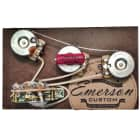 Emerson 5-Way Strat Prewired Kit 250k image