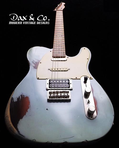 Fender Telecaster Sonic Blue Relic! Nashville 3 pickup Style | Reverb