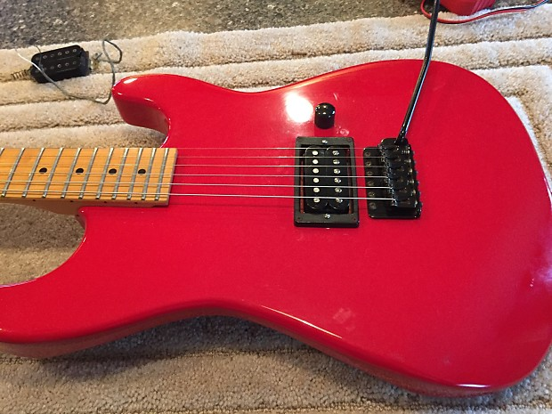 charvel jackson model 1 guitar 1986 87 red reverb. Black Bedroom Furniture Sets. Home Design Ideas