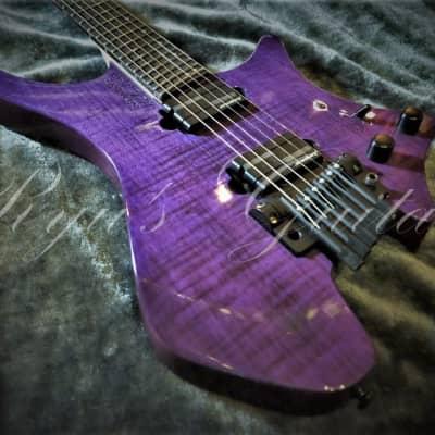 Strandberg Boden OS6TR Gloss See Thru Purple for sale