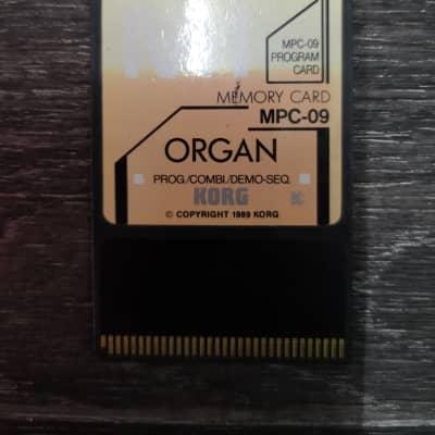 Korg M1 Organ MPC-009 Memory Card