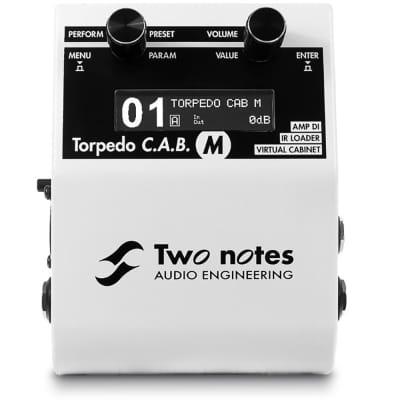 Two Notes Torpedo C.A.B. M Speaker Simulator / Amp DI