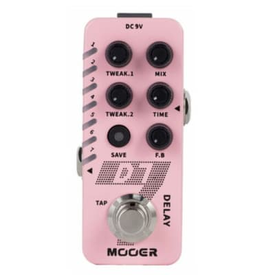 Mooer D7 Delay Pedal Built In Looper Brand New Release! Fast U.S. Shipping ! 2020