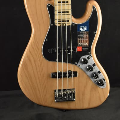Fender American Elite Jazz Bass Ash Natural
