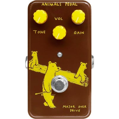 Animals Pedal Major-Overdrive Effects Pedal