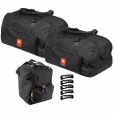 (2) JBL Bags EON615-BAG Deluxe EON615 Speaker Carry Bags w Ties & Case