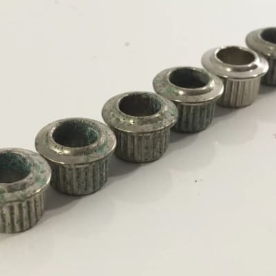 Aged Relic Vintage Style Fender Electric Guitar Acoustic Tuner Bushings 9mm Hole