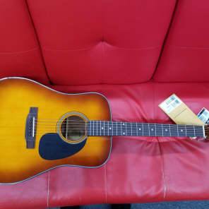 Blueridge Contemporary Series BR-40 Dreadnought Acoustic Guitar Sunburst w/Case for sale