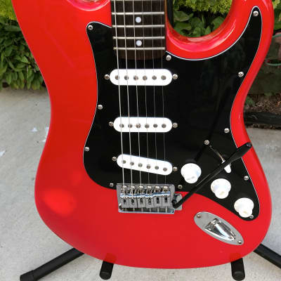 Vintage 80's JB Player Stratocaster SSS Model JBG 165/R for sale