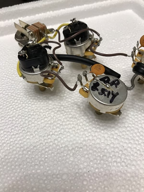 Gibson Sg Wiring Harness Cts Push Pull