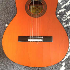 Suspiro (J. B. Perez) Classical Guitar 80s Sienna for sale