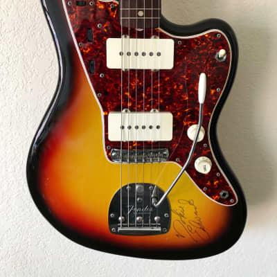 Fender Jazzmaster Original Owner 1965 Sunburst Signed by Nokie Edwards
