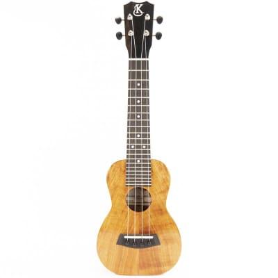 Kanile'a K1-S-DLX-G K-1 2019 Deluxe Soprano Koa Ukulele (#0919-21437) - 0919-21437 for sale