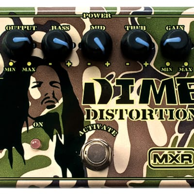 MXR DD11 Dime Distortion Effect Pedal for sale