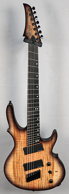halo custom guitars seraphim 7 string fanned fret guitar reverb. Black Bedroom Furniture Sets. Home Design Ideas